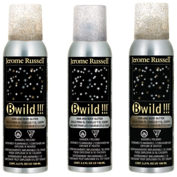 BWild Glitter Spray - Silver 3.5 oz. (JRU-02872)