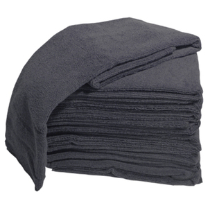 Microfiber Towels 10 Pack - Black (TOW-10-BK)