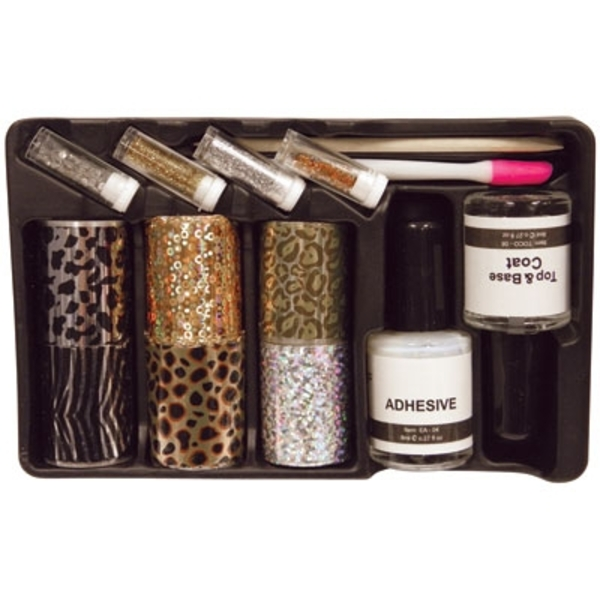 Nail Art Foil Kit with 6 Patterns (DL-C237)