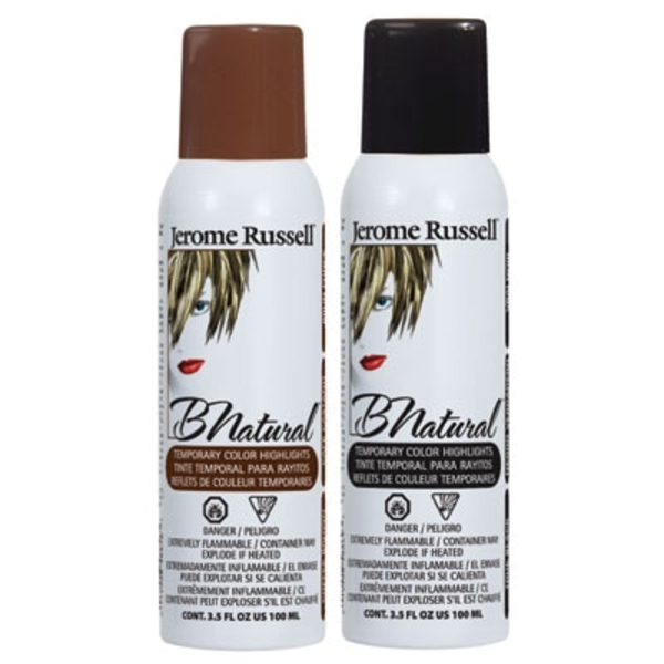 BNatural Temporary Hair Color Spray - True Black (JRU-00869)
