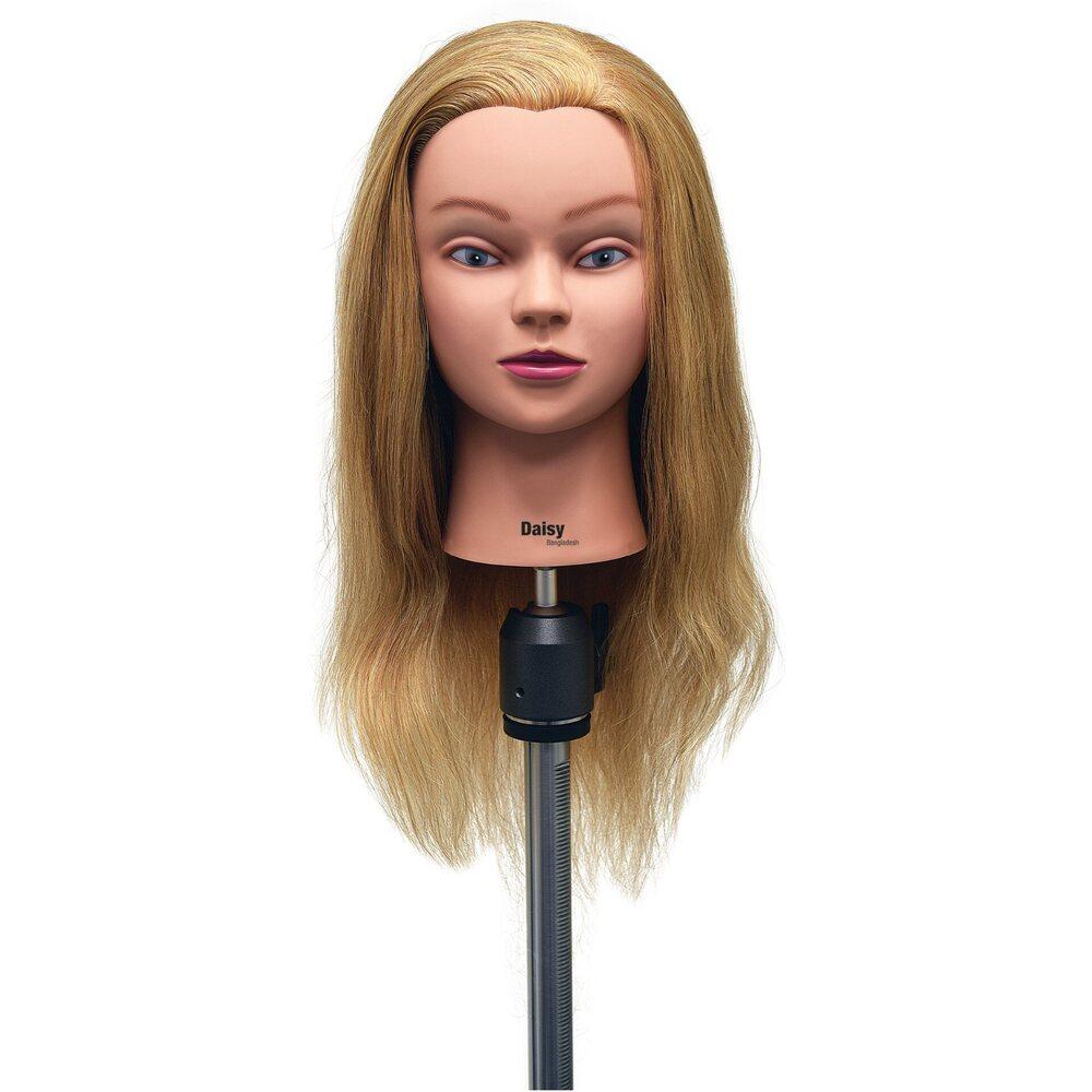 Long Hair Manikin Human Hair Manikin 22