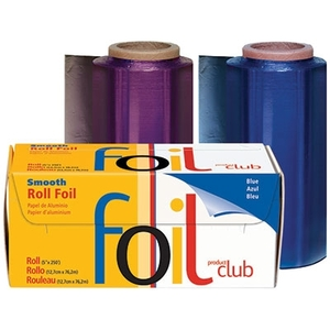 "5"" x 250' Smooth Foil Roll Dark Blue (RF1060DB)"