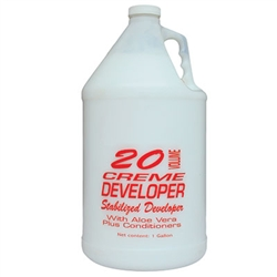 Cream Developer - 20 Volume 1 Gallon (FSC-20V)