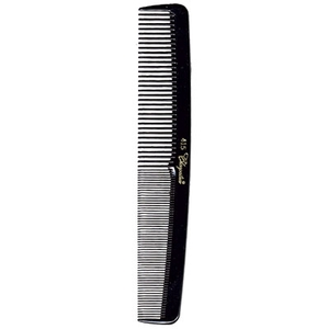 "7"" SmoothRound Back Larger Cutting Comb - Black (KC415)"