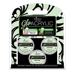 Glo Acrylic Set - Glow-in-the-Dark Acrylic Powders - Amp Up Your French Manicures! (EZ-59106)
