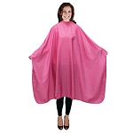 "Crinkle Nylon Styling Cape - Bright Fuchsia 54"" x 58"" (4073)"