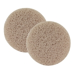 "Exfoliating Sponges 3"" Diameter 2 Pack (FSC480)"