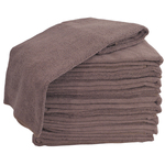 10 Pack Microfiber Towels Brown (TOW-10-BR)