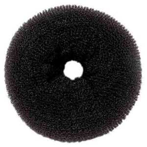 Medium Hair Donut - Black (HD-28)