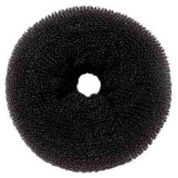 Jumbo Hair Donut - Black (HD-23)