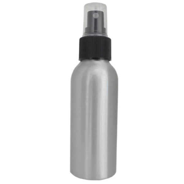 3.4 oz. Aluminum Fine Mist Spray Bottle (B84)