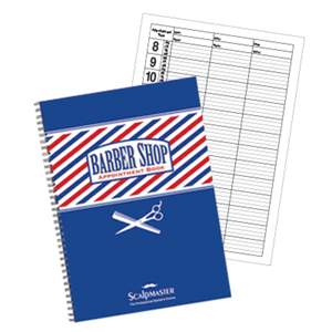 3 Column Barber Appointment Book (SC-9019)