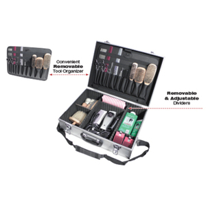 "Lockable Aluminum Barber Case 3""H x 17-34""W x 6""D (ATC301)"