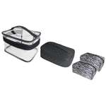 Cosmetic Tote Set - 4 Piece Set (TOTE-506)