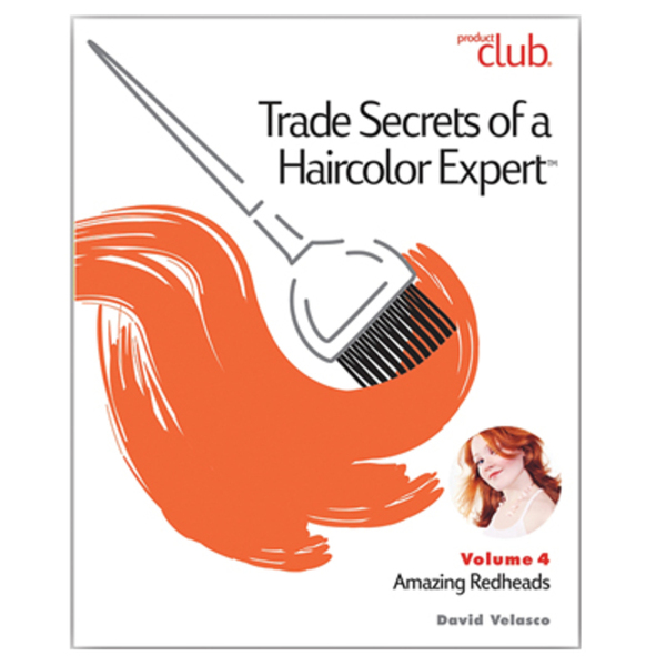 Trade Secrets of a Haircolor Expert with David Valesco - Vol. 4 Amazing Redheads (TSX-VOL4)