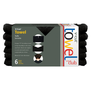 V-Cut™ Towels - Black (VCUT-6B)