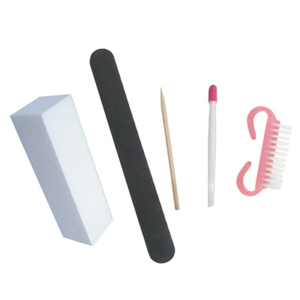 5 Disposable Manicure Kit For Natural Nails (DL-C383)