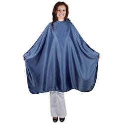 Denim Blue Styling Cape (4093)
