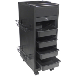 4-Tray Lockable Deluxe Styling Station (9036)