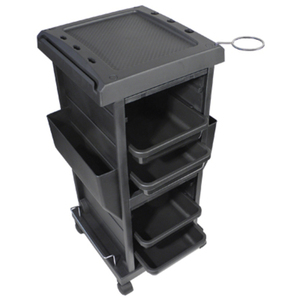 4-Tray Lockable Trolley (9040)