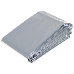 "Thermal Mylar Foil Blankets - 52"" X 84"" 6 Pack (FSC679)"