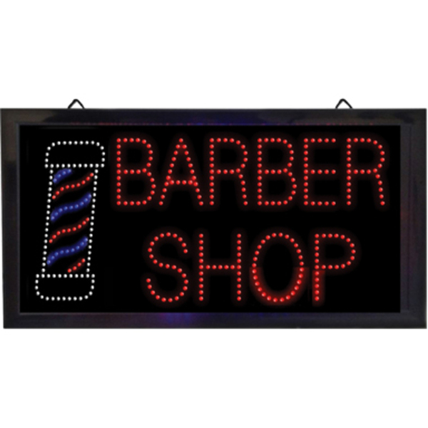 """Barber Shop"" LED Sign (SC-9022)"