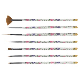 Floral Nail Art Tool Set 7 Pieces (DL-C402)