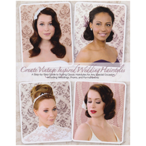 Vintage Inspired Wedding Hairstyles (DB-VINTWED)