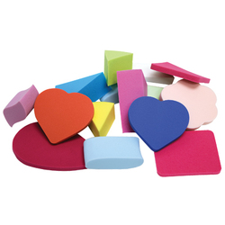 Latex-Free Make-Up Sponge Assortment 100 Pieces (FSC564)