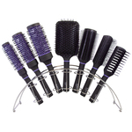 7 Piece Ceramic Thermal Round Brush Bridge Display (SC-BRDG17)