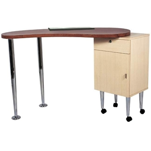 Salon Masters Manicure Table (Oak) (CSH-2708)