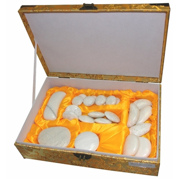 Spa Masters Marble Stone Massage Set (BB-203A)