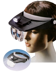 Spa Masters Head Lamp Magnifying Glass (NV-288)