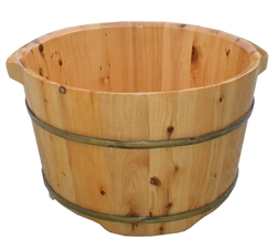 Cedar Wood Foot Soak Tub (FY-04)