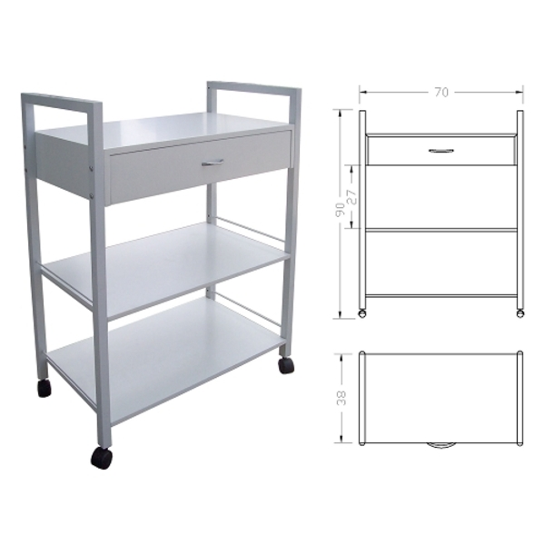 HBNY Free Style 1 Drawer Trolley (TR11.1)