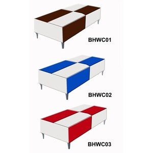 HBNY Sasha Waiting Chair Blue (WC02)