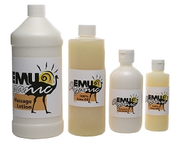 EMU ORGANIC Emu Oil Massage Lotion 8 oz.