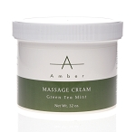 AMBER Green Tea Massage Cream 32 oz.
