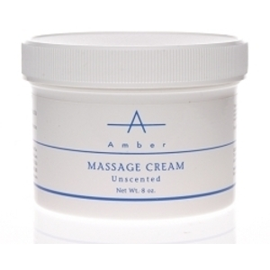 AMBER Unscented Massage Cream 8 oz.