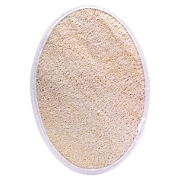 "Loofah Oval Pad-1 Side 7"" x 5"""