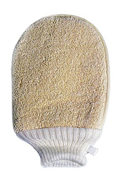 "Loofah Glove-1 Side 8"" x 6"""