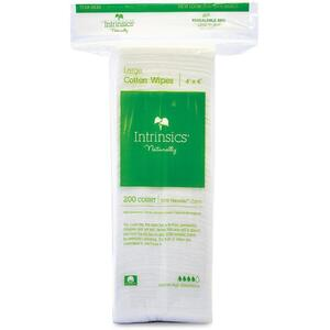 "INTRINSICS 4"" x 4"" Cotton Esthetic Wipes 200 Pac"