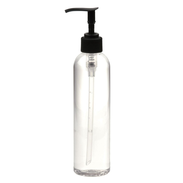8 oz. Bottle with Black Pump