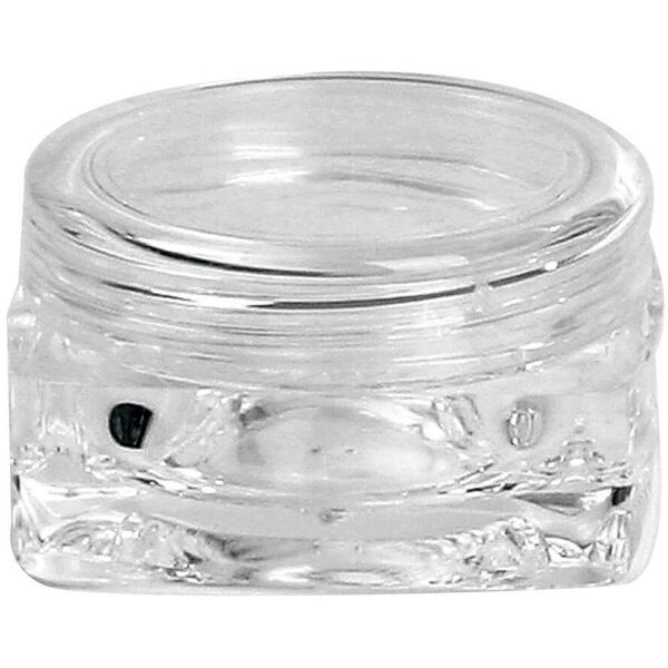 Amenity Jar-Clear Sq 10g 10 Pack