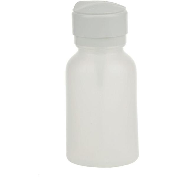 Disposable Bottle 8 oz. Plastic Lid