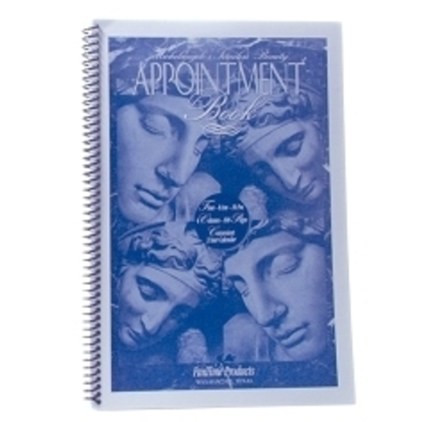 4 Column Appointment Book
