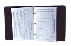 "1"" Binder with Tabs"