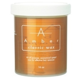 AMBER Classic Depilatory Wax 16 oz. Jar