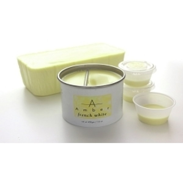AMBER French White Wax 14 oz. Can
