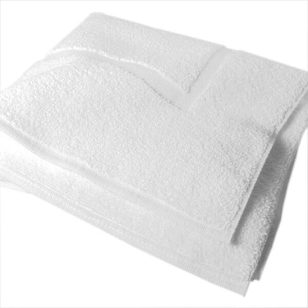 "Cotton Bath Mat White 22"" x 36"""